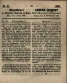 Amtsblatt der Königlichen Regierung zu Posen. 1860.10.09 Nro.41