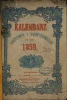 Kalendarz Domowy i Gospodarski na Rok Zwyczajny 1859 mający dni 365