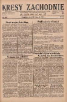 Kresy Zachodnie: pismo poświęcone obronie interesów narodowych na zachodnich ziemiach Polski 1929.11.22 R.7 Nr269