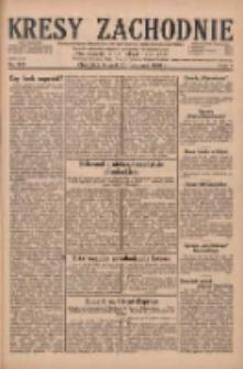 Kresy Zachodnie: pismo poświęcone obronie interesów narodowych na zachodnich ziemiach Polski 1929.11.26 R.7 Nr272