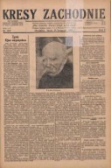 Kresy Zachodnie: pismo poświęcone obronie interesów narodowych na zachodnich ziemiach Polski 1929.11.27 R.7 Nr273