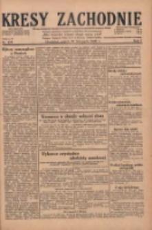 Kresy Zachodnie: pismo poświęcone obronie interesów narodowych na zachodnich ziemiach Polski 1929.11.29 R.7 Nr275