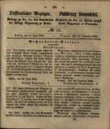 Oeffentlicher Anzeiger. 1851.06.17 Nro.24