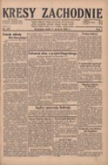 Kresy Zachodnie: pismo poświęcone obronie interesów narodowych na zachodnich ziemiach Polski 1929.12.04 R.7 Nr279