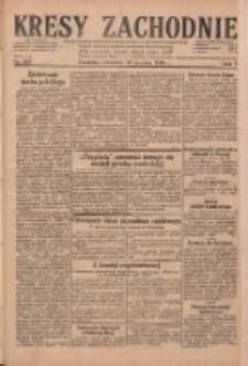 Kresy Zachodnie: pismo poświęcone obronie interesów narodowych na zachodnich ziemiach Polski 1929.12.22 R.7 Nr295