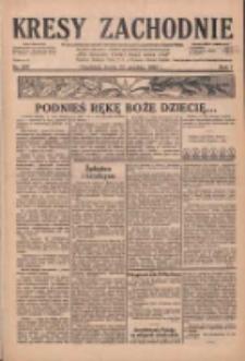 Kresy Zachodnie: pismo poświęcone obronie interesów narodowych na zachodnich ziemiach Polski 1929.12.25 R.7 Nr297