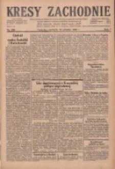 Kresy Zachodnie: pismo poświęcone obronie interesów narodowych na zachodnich ziemiach Polski 1929.12.29 R.7 Nr299
