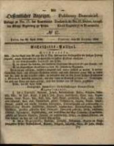 Oeffentlicher Anzeiger. 1846.04.28 Nro.17