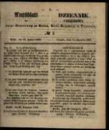 Amtsblatt der Königlichen Regierung zu Posen. 1857.01.13 Nro.2