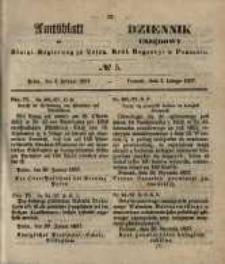 Amtsblatt der Königlichen Regierung zu Posen. 1857.02.03 Nro.5
