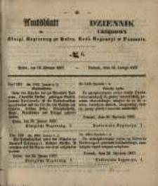 Amtsblatt der Königlichen Regierung zu Posen. 1857.02.10 Nro.6