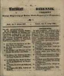 Amtsblatt der Königlichen Regierung zu Posen. 1857.02.17 Nro.7