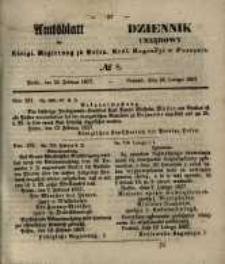 Amtsblatt der Königlichen Regierung zu Posen. 1857.02.24 Nro.8
