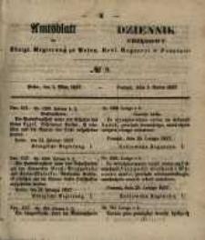 Amtsblatt der Königlichen Regierung zu Posen. 1857.03.03 Nro.9
