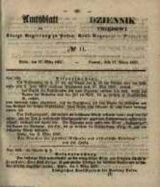 Amtsblatt der Königlichen Regierung zu Posen. 1857.03.17 Nro.11