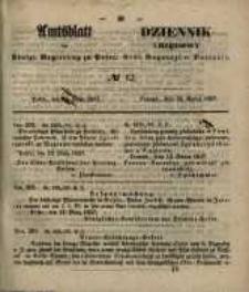 Amtsblatt der Königlichen Regierung zu Posen. 1857.03.24 Nro.12
