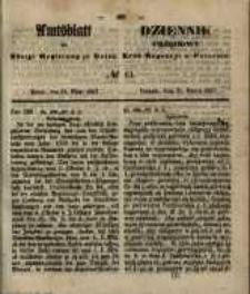 Amtsblatt der Königlichen Regierung zu Posen. 1857.03.31 Nro.13
