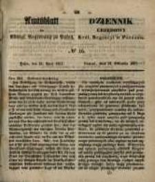 Amtsblatt der Königlichen Regierung zu Posen. 1857.04.21 Nro.16