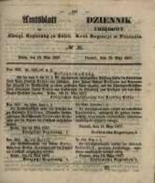 Amtsblatt der Königlichen Regierung zu Posen. 1857.05.19 Nro.20
