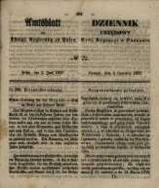 Amtsblatt der Königlichen Regierung zu Posen. 1857.06.02 Nro.22