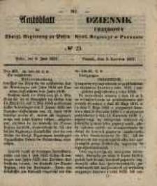 Amtsblatt der Königlichen Regierung zu Posen. 1857.06.09 Nro.23