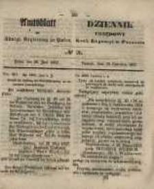 Amtsblatt der Königlichen Regierung zu Posen. 1857.06.30 Nro.26