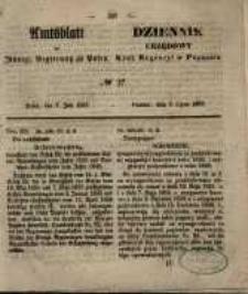 Amtsblatt der Königlichen Regierung zu Posen. 1857.07.07 Nro.27