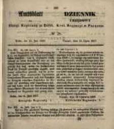 Amtsblatt der Königlichen Regierung zu Posen. 1857.07.14 Nro.28