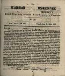 Amtsblatt der Königlichen Regierung zu Posen. 1857.07.21 Nro.29