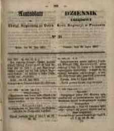 Amtsblatt der Königlichen Regierung zu Posen. 1857.07.28 Nro.30