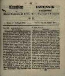 Amtsblatt der Königlichen Regierung zu Posen. 1857.08.18 Nro.33