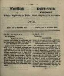 Amtsblatt der Königlichen Regierung zu Posen. 1857.09.01 Nro.35