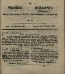 Amtsblatt der Königlichen Regierung zu Posen. 1857.09.08 Nro.36