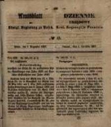 Amtsblatt der Königlichen Regierung zu Posen. 1857.12.01 Nro.48