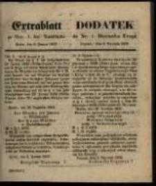 Centralblatt zu Nro 1. des Amtsblatts. Posen. den 6. Januar 1857