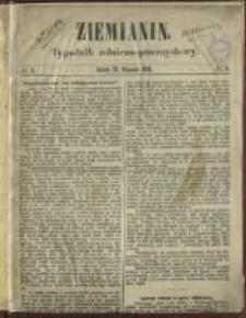 Ziemianin. Tygodnik rolniczo-przemysłowy 1861.01.12 Nr2