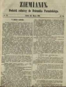Ziemianin. Dodatek rólniczy do Dziennika Poznańskiego 1861.03.23 Nr12