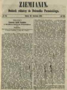 Ziemianin. Dodatek rólniczy do Dziennika Poznańskiego 1861.04.20 Nr16