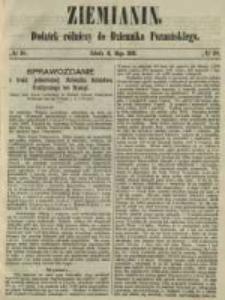 Ziemianin. Dodatek rólniczy do Dziennika Poznańskiego 1861.05.04 Nr18