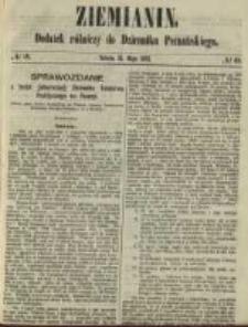 Ziemianin. Dodatek rólniczy do Dziennika Poznańskiego 1861.05.11 Nr19