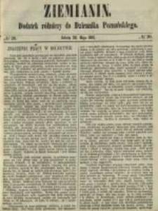 Ziemianin. Dodatek rólniczy do Dziennika Poznańskiego 1861.05.18 Nr20