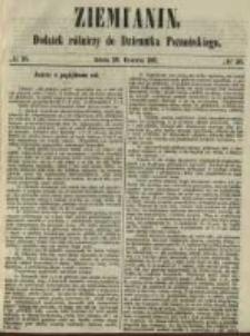 Ziemianin. Dodatek rólniczy do Dziennika Poznańskiego 1861.06.29 Nr26