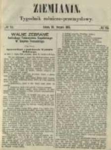 Ziemianin. Tygodnik rolniczo-przemysłowy 1861.08.10 Nr32