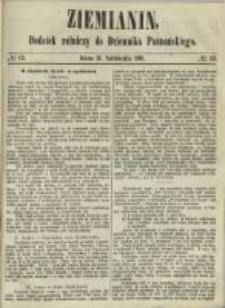 Ziemianin. Dodatek rólniczy do Dziennika Poznańskiego 1861.10.19 Nr42