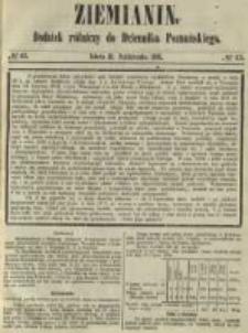 Ziemianin. Dodatek rólniczy do Dziennika Poznańskiego 1861.10.21 Nr43