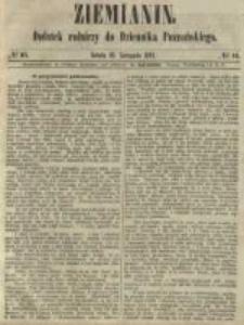 Ziemianin. Dodatek rolniczy do Dziennika Poznańskiego 1861.11.16 Nr46