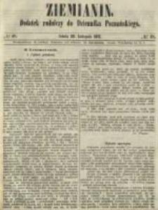 Ziemianin. Dodatek rolniczy do Dziennika Poznańskiego 1861.11.30 Nr48