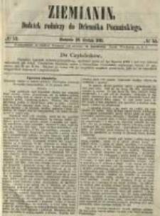 Ziemianin. Dodatek rolniczy do Dziennika Poznańskiego 1861.12.29 Nr52