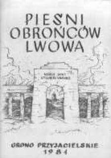 Pieśni Obrońców Lwowa Wielkopolska Biblioteka Cyfrowa