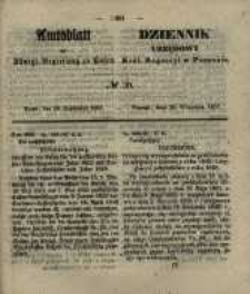 Amtsblatt der Königlichen Regierung zu Posen. 1857.09.29 Nro.39